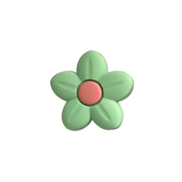 Perline fiore verde
