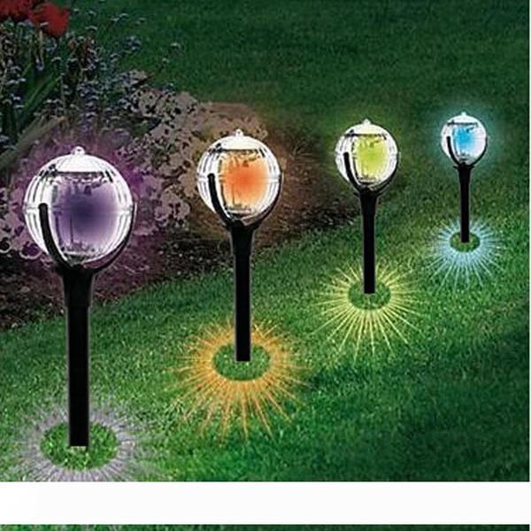 LED Solar Lights Led Lawn Light colourfull Garden Outdoor Sun Light Corridor Lamp Outdoor Garden Party Lamp Solar Powered Colored Solar Lamp
