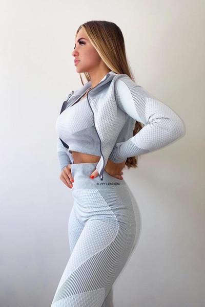 White-2pcs coat-leggings