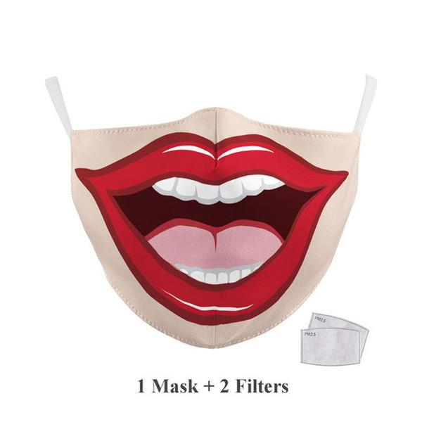 Adulto # 4 + 2 piezas de filtro