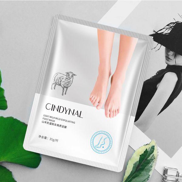 best selling Goat Milk Delicate skin Intensive repair Mascarilla Remove fine lines Black face Skin Care strengthen firming Wholesale foot masks