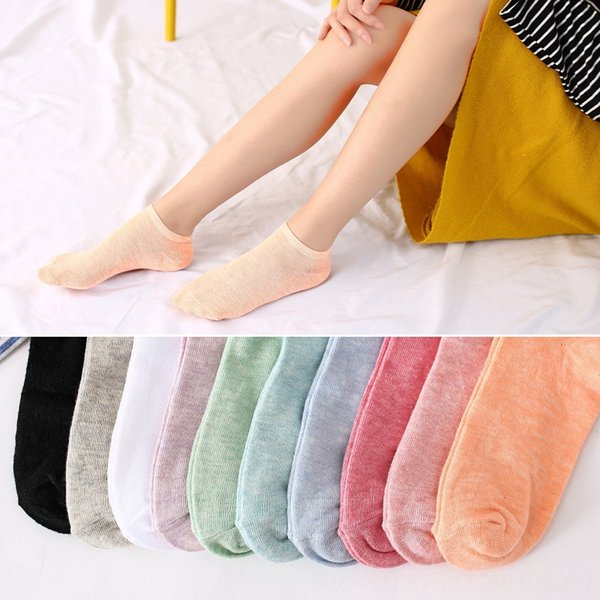 15 mujeres # 039; s calcetines del barco 5 colores aleatoriamente