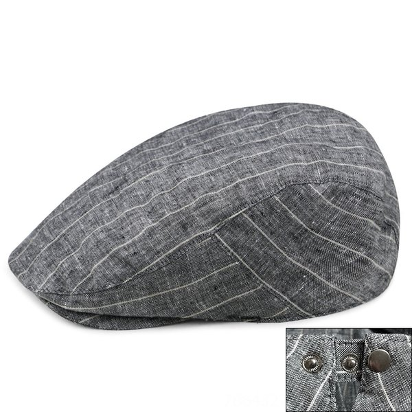 wide stripe style-Gray-Adjustable for 56