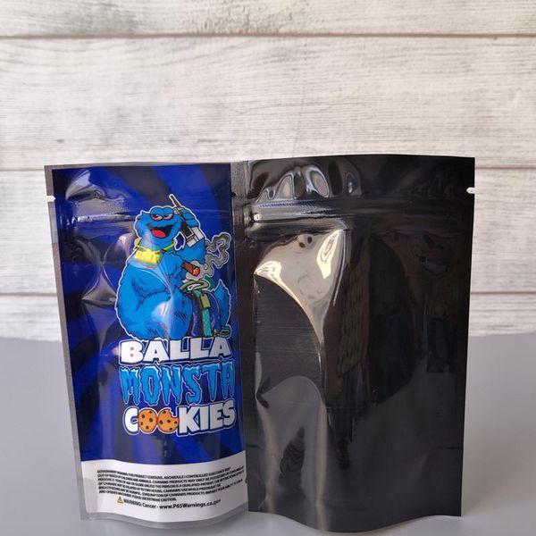 biscoitos Balla Monsta (85x125mm)