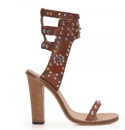 Brown 11cm heel