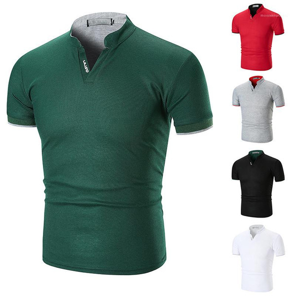 Coloar Polos Mens Clothing Summer Mens Polos Fashion Striped Cuff Natural Color Polos Casual Short Sleeve Stand Fashion Mens Clothing Women Clothing Mens Jeans Pants Hoodies Hiphop ,Women Dress ,Suits Tracksuits,Ladies Tracksuits Welcome to our Store