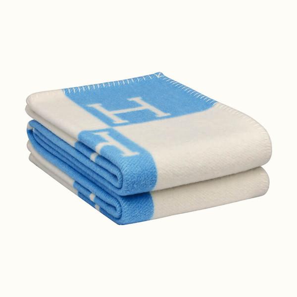 lã azul