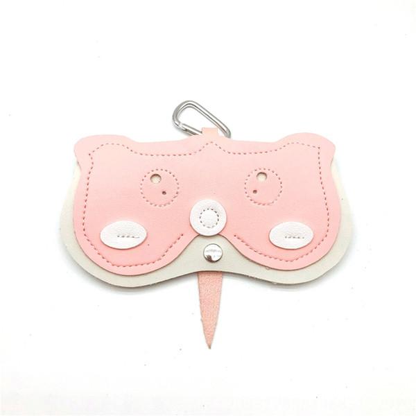 pink tail bag