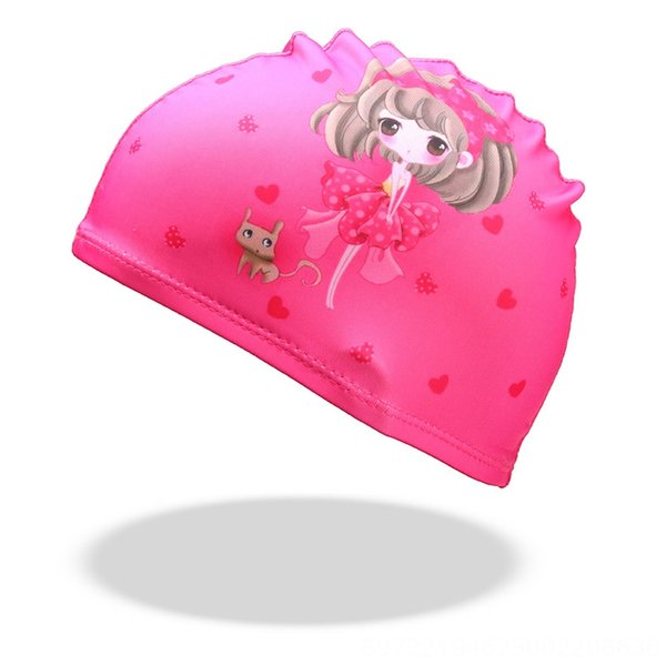 pink girl cloth hat