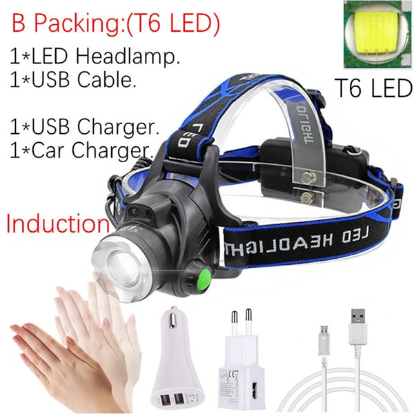 B Packing -T6 LED No Battery