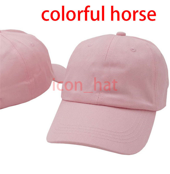 Pink with Colorful horse