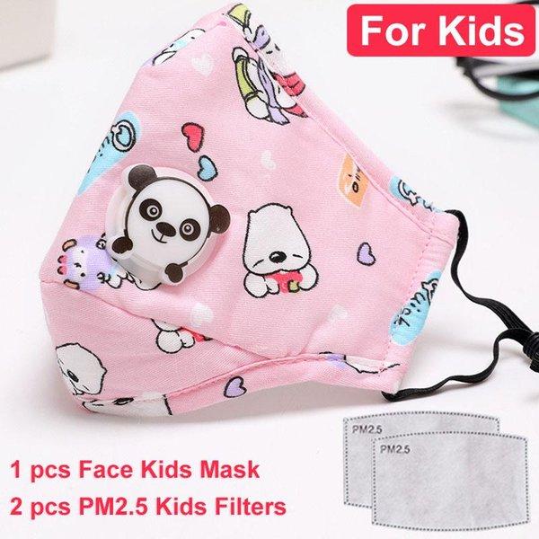 bambini rosa con 2 filtri