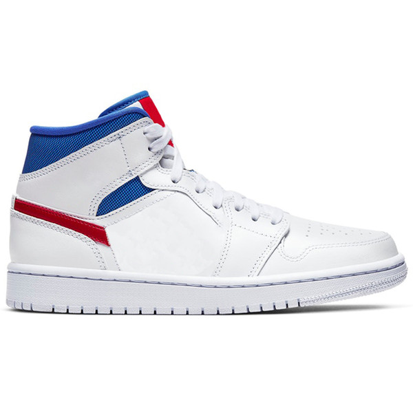 1s-Mid White Red Royal