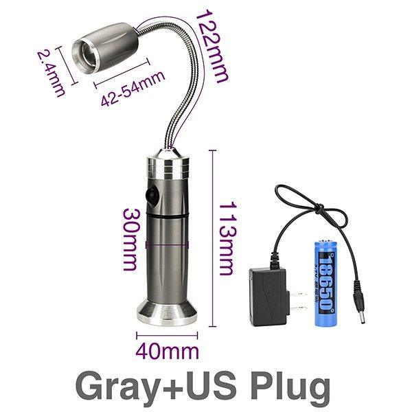 Gray with US Plug