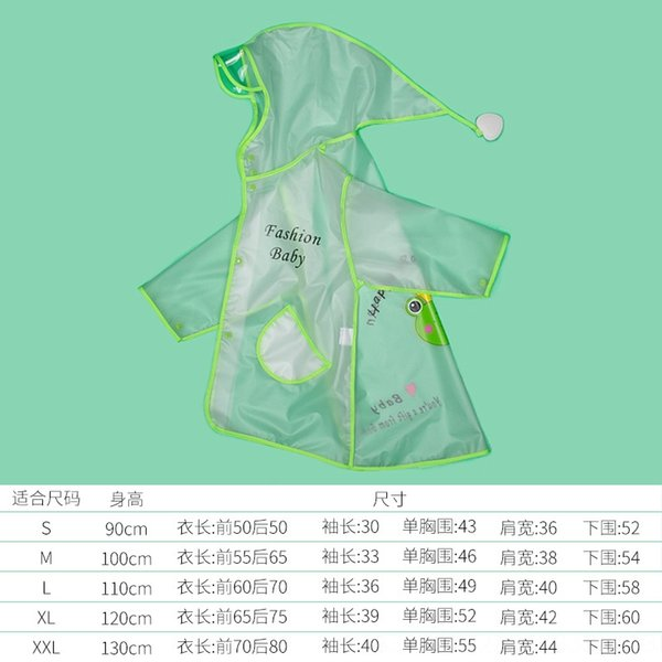 Yeşil Kurbağa Eva Yağmurluk