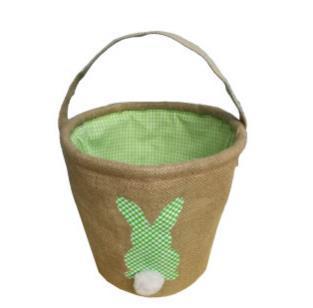#3 Burlap Easter Baskets