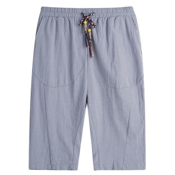 Grigio pantaloni corti