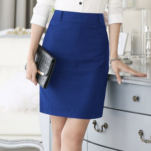 Небесно-голубой юбка