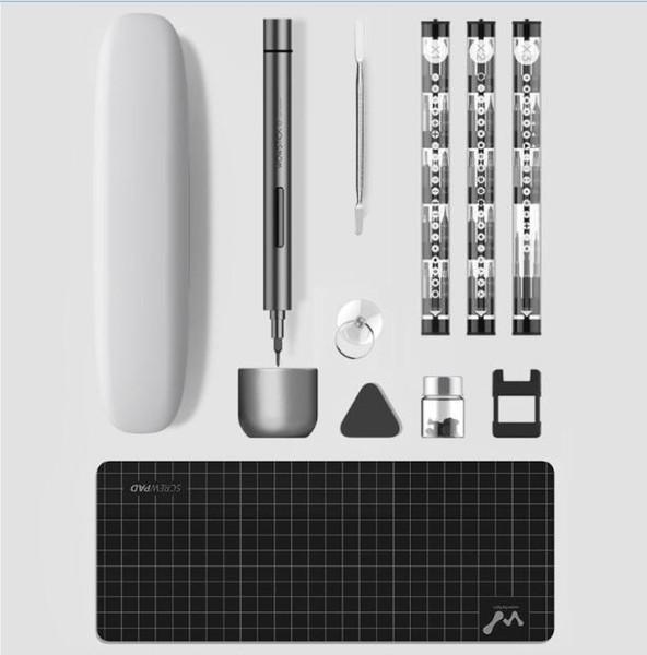 top popular Xiaomi Youpin Wowstick 1F Plus Mini Handheld Cordless Electric Screwdriver Precision Magnetic Screw Driver Tool Universal Multi Bits Set 2021