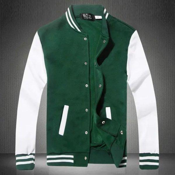 높은 품질의 컬러 스웨터 - 녹색