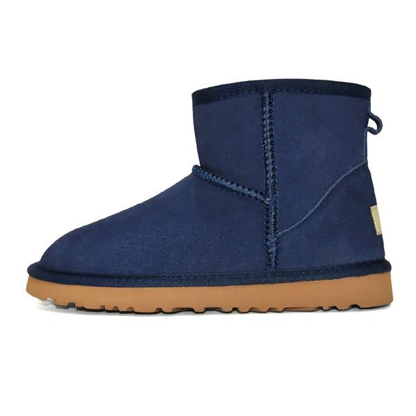 3 Classic Mini Boot - Bleu