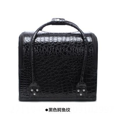 black crocodile pattern