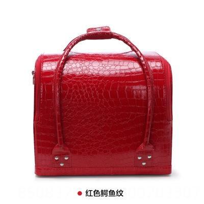 big red crocodile pattern