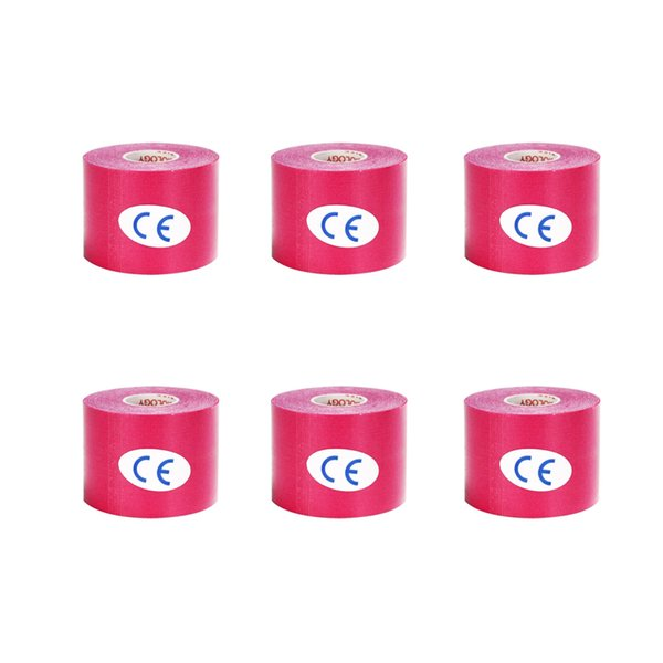 6 Pieces Pink