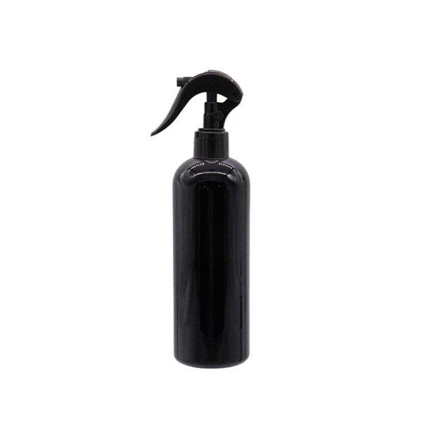 300ML الأسود زجاجة PET الأسود