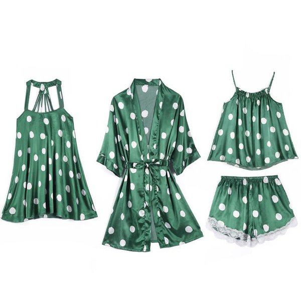 4PCS Set Green