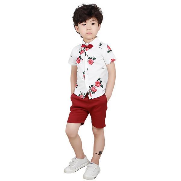 shirt shorts 2pcs C