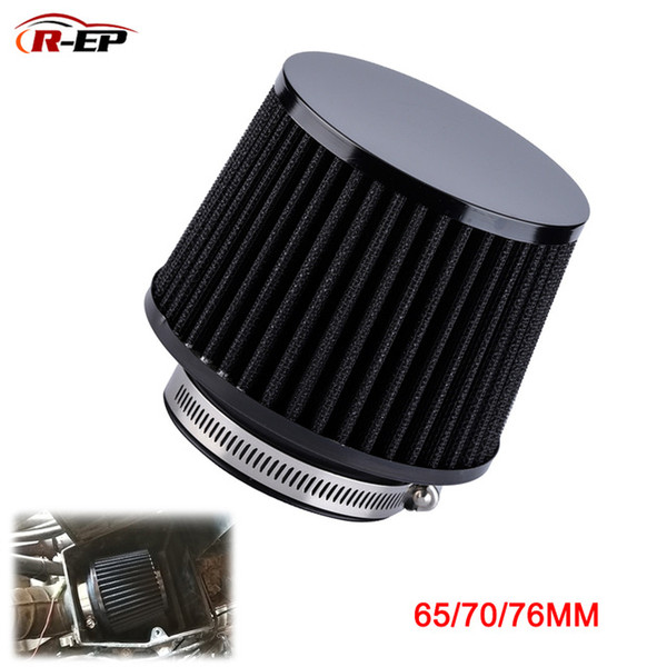 utomobiles & Motorcycles R-EP Universal Car Air Intake Filter 76 70 65mm Performance High Flow Filters for Cold Air Intake 3 2.75inch 2.5...