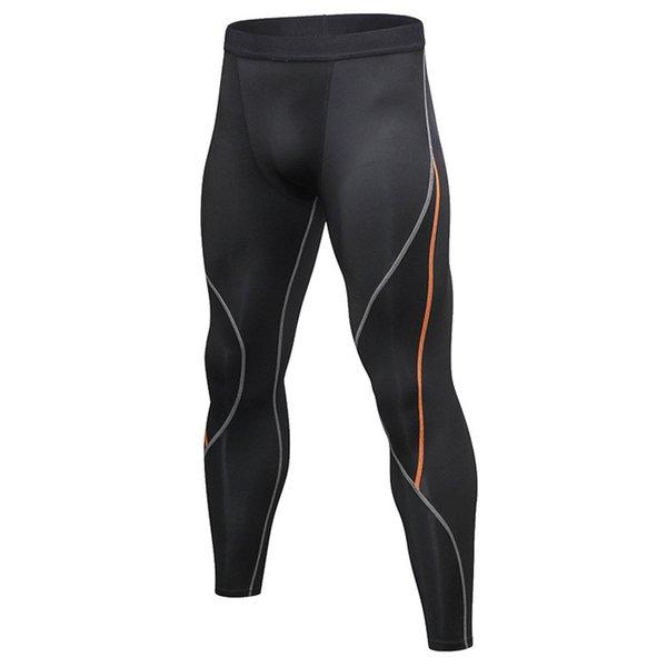 pantalon ligne orange