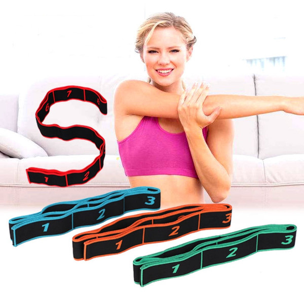 best selling Resistance Bands 5pcs Set Fitness Yoga Workout Home Exercise Bands with Various Strength Pull Rope Training Latex Pedal Elastic Rope