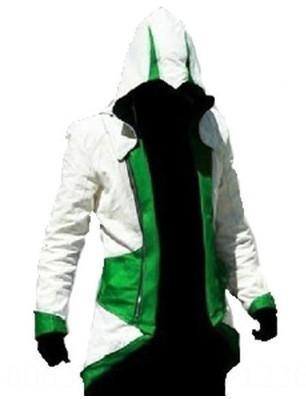 Blanc et vert Assassin # 039; s Creed