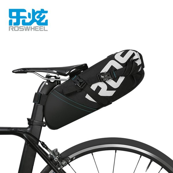 best selling ROSWHEEL NEW MTB bike bag cycling bicycle saddle tail rear seat waterproof Storage bags accessories high-capacity 8L 10L MX200717