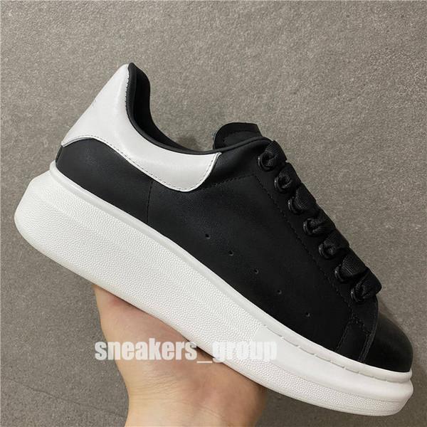 schwarz mit weißen