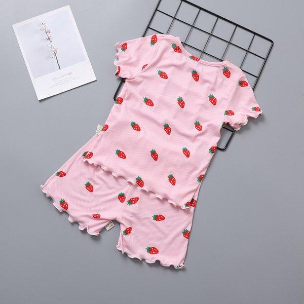 manica corta modali rosa fragola