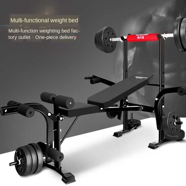 best selling Production Sale Weight Bench Bench Stand Multi-functional Multi-function Gym Equipment Wholesale Home Fitness Equipment