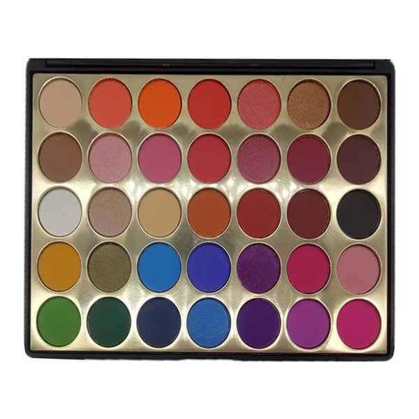 best selling 35 color eye shadow professional eye shadow multicolored pearlescent make-up combination eyeshadow palette Eye makeup tools