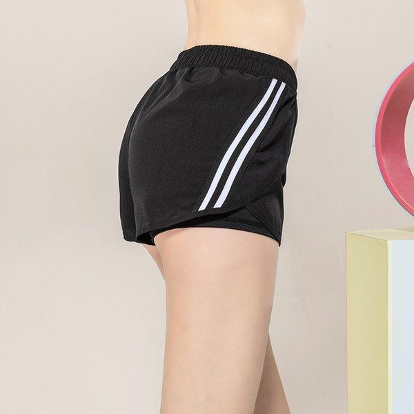 Черные шорты йоги