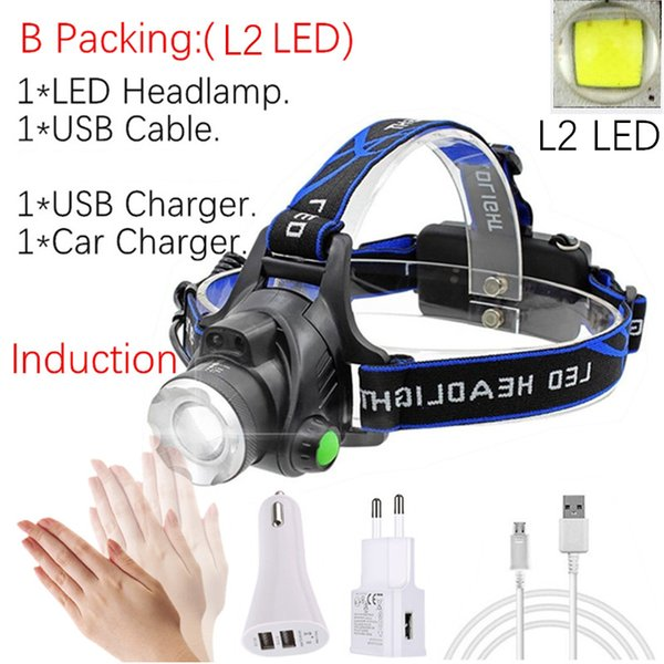 B Packing -L2 LED No Battery