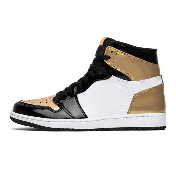 #12 Gold toe
