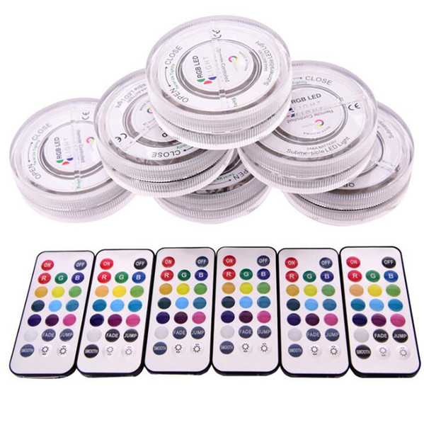best selling Newest Colorful LED Remote Control Night Light Luminous Holder Portable Luxury Decoration For Acrylic Glass Bong Hookah Shisha Smoking Kit