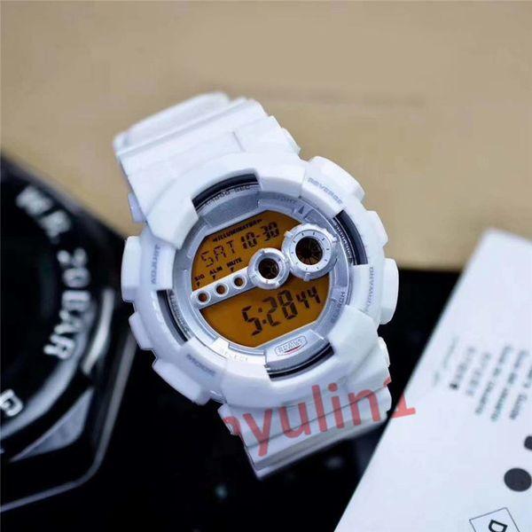 6 white watch