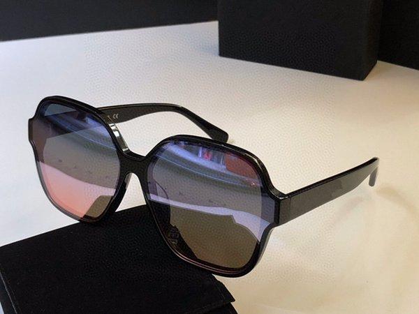 marco negro lente de espejo Multi