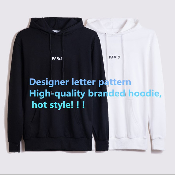 top popular Fashion Women's Men's Cardigan Hoodies Long Sleeve for Autumn Winter Cotton Blend Casual Contrast Color Clothing With Letter Pattern 2020