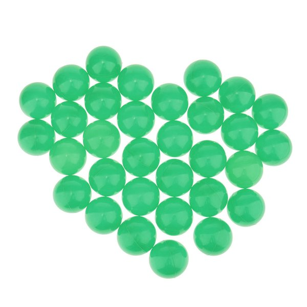 best selling 50 Pack Plastic Mini Play Balls - No Sharp Edges, Non Toxic - Use in Baby or Toddler Ball Pit, Play Tents & Tunnels for Indoor & Outdoor