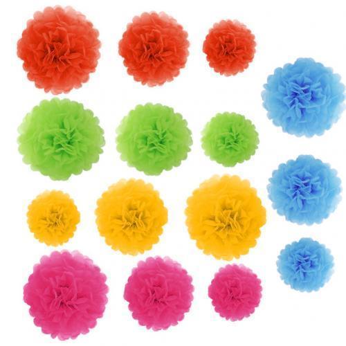 15 pezzi misti 5 colori