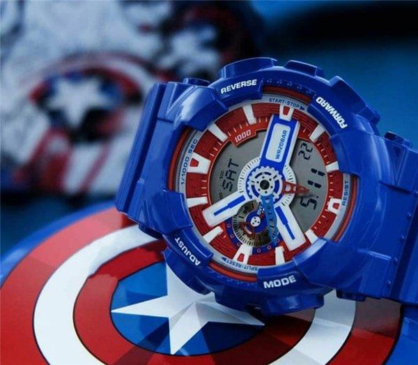 Wunder Captain America blau 110